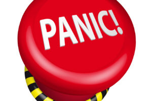 Is Your Brain A Panic Button?